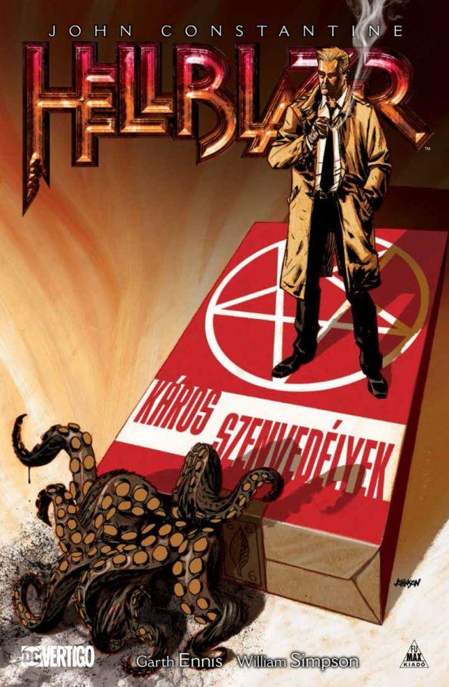 John Constantine: Hellblazer - Káros szenvedélyek. Forrás: fumax.hu