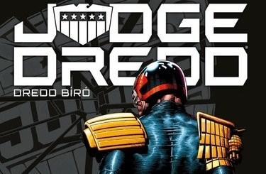 Michael Carroll: Judge Dredd - Dredd bíró: Minden birodalom elbukik. Forrás: Fumax Kiadó.