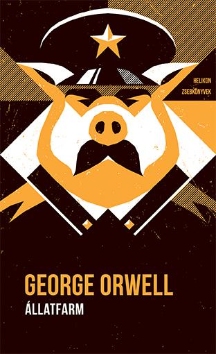 Helikon Zsebkönyvek #98 – George Orwell: Állatfarm