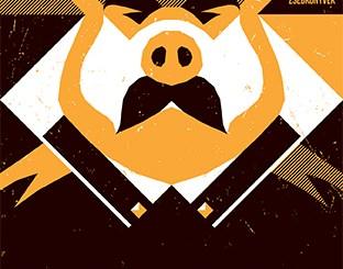 George Orwell: Állatfarm. Forrás: Helikon Kiadó