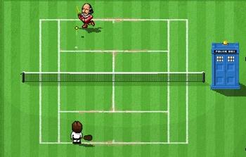 Tardis Tennis - BBC Sport