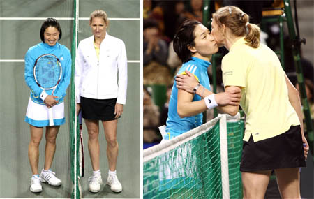 Kimiko Date - Steffi Graf - Dream Match 2008