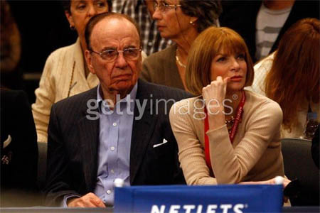 Rupert Murdoch, Anna Wintour