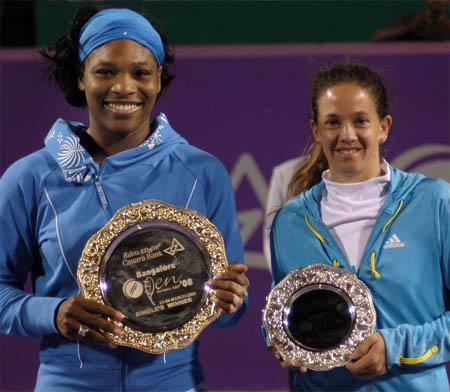 Serena Williams, Patty Schnyder, Bangalore 2008