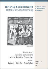 Cover der HSR Vol. 40 No. 1