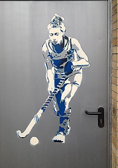 BTG Hockeyspielerin