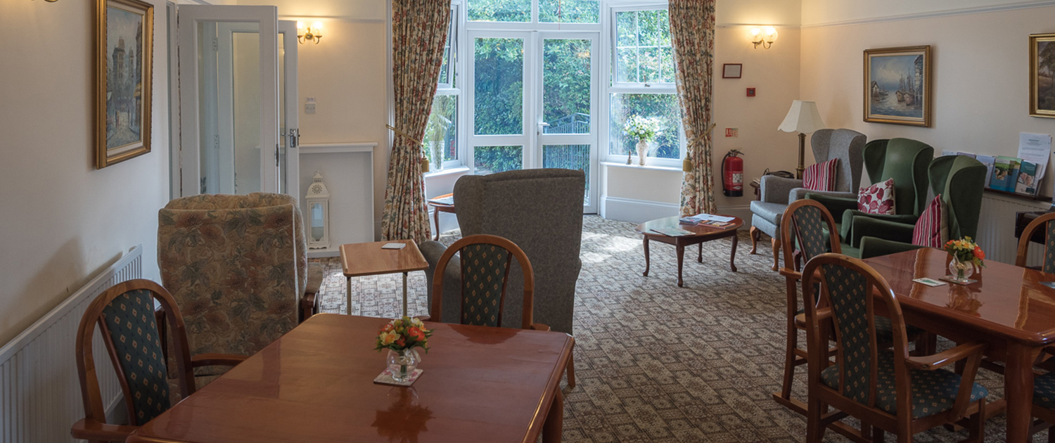 Photo of the dining room at Cornelius House Care Home
