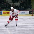 Junior Matt Buckles netted two goals in Cornell's 5-2 win over Ryerson. (Brittney Chew / News Photography Editor)