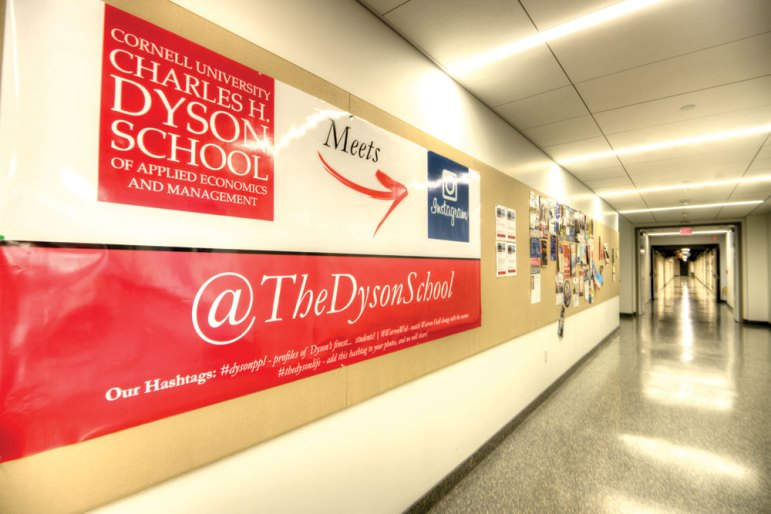 Business analytics will be the Dyson School's 1th concentration starting this spring. (David Navadeh / Sun Staff Photographer)