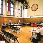 Student Assembly meets in the Willard Straight Hall Memorial Room.