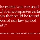 Law meme