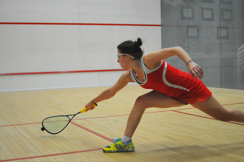 Junior Rachel Scherman won two of her three matches including a victory in Cornell's victory over No. 9 Drexel.
