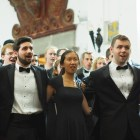 The Chorus and Glee Club perform alongside the Xalapa Symphony Orchestra, the oldest symphony orchestra in Mexico.