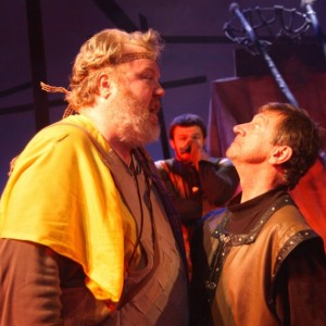 The Ithaca Shakespeare Company's production of Henry V was brilliantly acted.