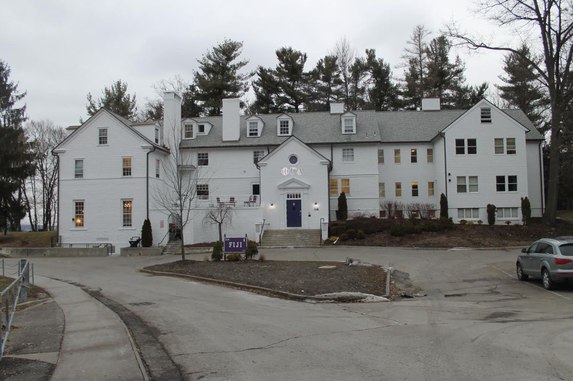 The Phi Gamma Delta fraternity was placed on interim suspension by the University Tuesday.