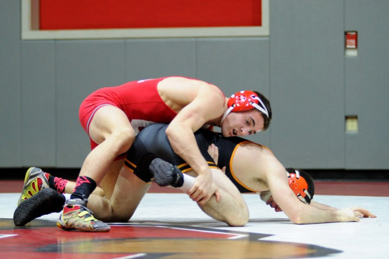 First-time All-American junior Dylan Palacio earned fourth in the nation at the 157-lb weight class