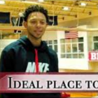 Xavier Eaglin '19 speaks in a now-deleted Cornell Athletics YouTube video.