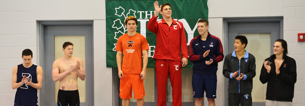 After placing eighth nationally at the NCAA Swimming Championship at Georgia Tech, Alex Evdokimov '18 was named Cornell's first All-American swimmer since 2006.