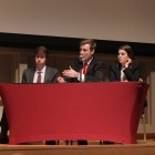 Members of the Cornell Republicans discuss U.S. encryption, immigration and policies in the Middle East in a debate Thursday.