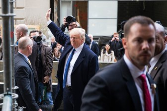 Presidential candidate Donald Trump will speak in several cities in upstate New York next weekend.