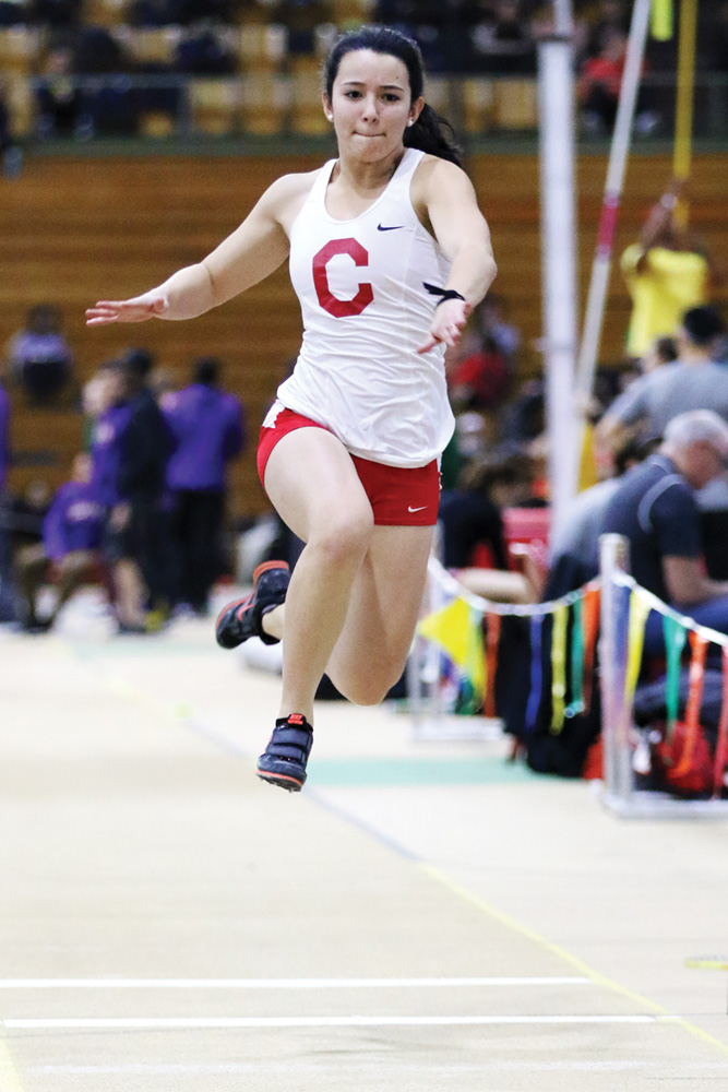 In February at the Ivy League Indoor Championships, the Red lost to Harvard, 136.4-123.5.