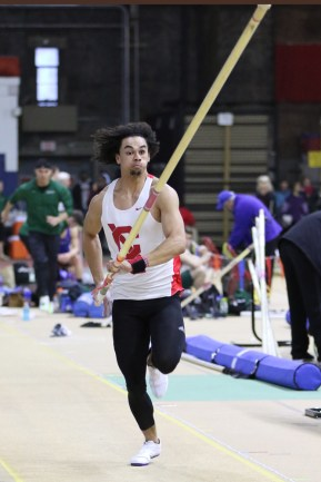Austin Jamerson did not have much experience in pole vaulting when coming to Cornell.