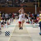 Women's track and field captured third place at the Ivy Heptagonals this past weekend.