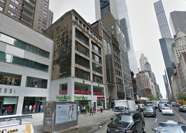 The Cornell College of Business recently bought three floors of a building located at 45 West 57th Street.