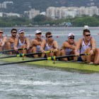 Karwoski and the USA men's coxed eight boat finished fourth in the finals in Rio, falling one place short of the podium.