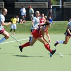 Senior midfielder Elizabeth Horak and the Red will travel to New Jersey in hopes of continuing the team's hot start.
