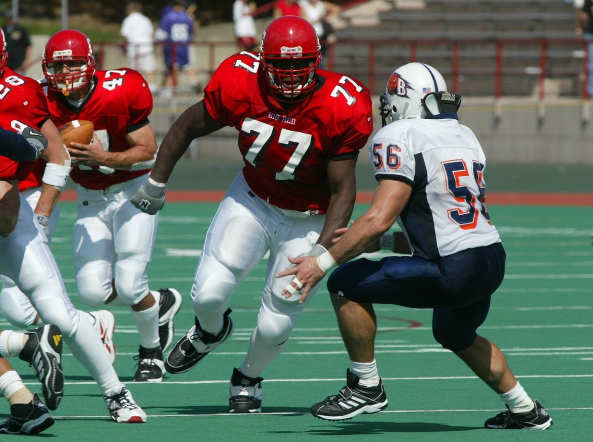 From the time he was recruited, Kevin Boothe knew he wanted to be in Cornell Athletics' Hall of Fame.