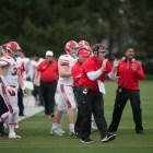 Head coach David Archer '05 and his team kick off the season at Delaware on Saturday.
