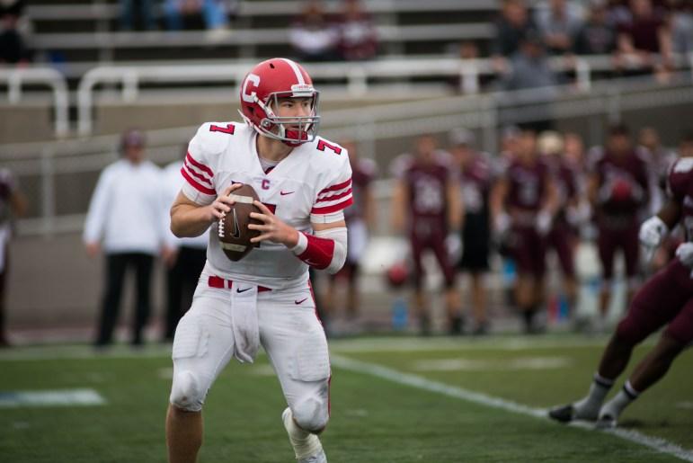"""He's a stud,"" wide receiver James Hubbard said about quarterback Dalton Banks."