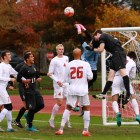 The Red made a push late in game to try and equalize, but fell short to Princeton by one.