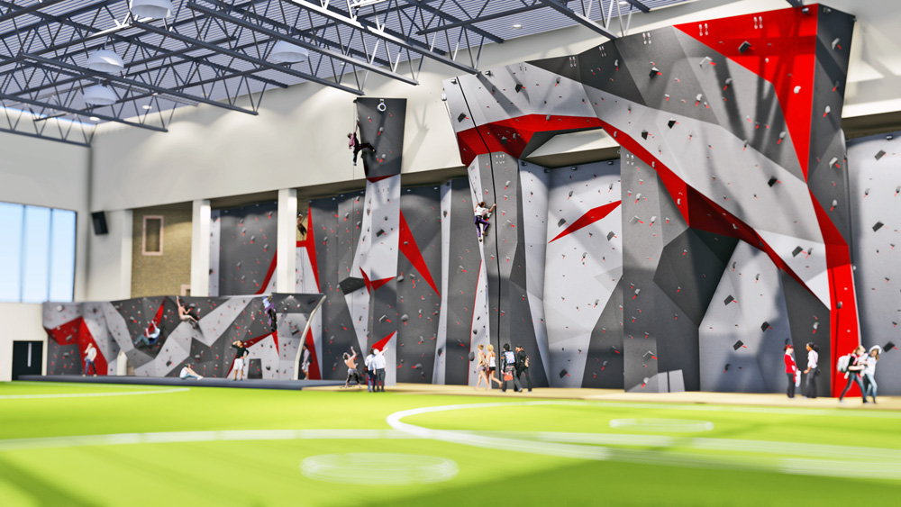 Officials say renovations to the Lindseth Climbing Center could not have been funded without community support.