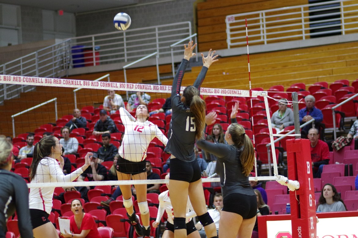 Cornell Volleyball currently sits at 9-9, hungry to get above .500.