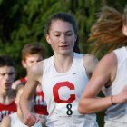 The women's cross country team had its top five runners finish within 19 seconds of each other, the shortest spread of all competing schools.
