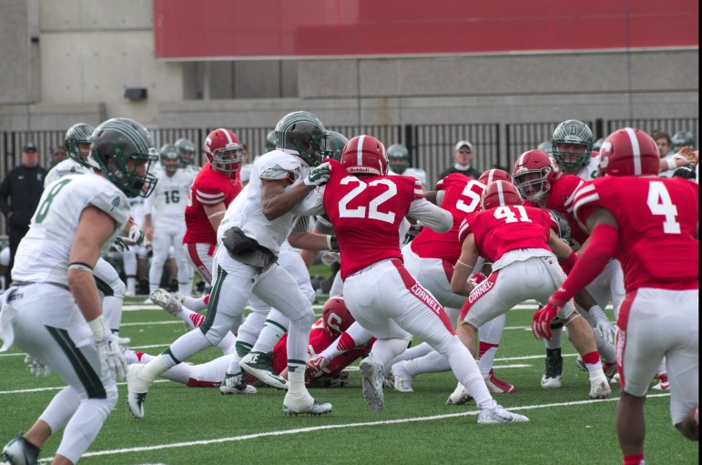 Weber has been one of the teams leaders so far this season. He has the third most tackles on the team this year.