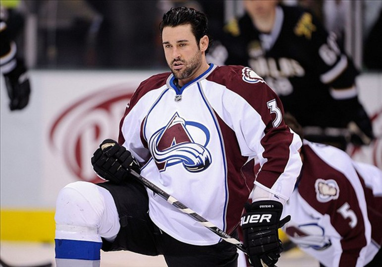 O'Byrne spent 10 years playing in the National Hockey League, playing with the Colorado Avalanche for two seasons.