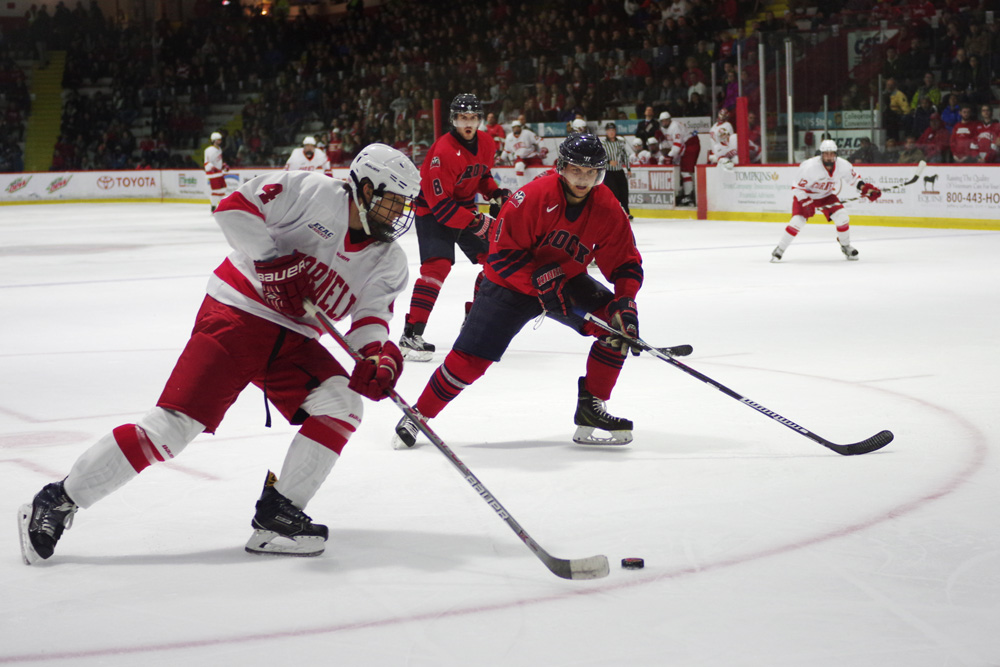 The Red opens its ECAC slate of games with clashes against Dartmouth and Harvard.