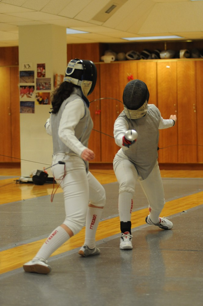 The competition this weekend will prove to be an opportunity for each individual fencer to improve her power ranking and, through this, improve her chance to qualify for nationals.