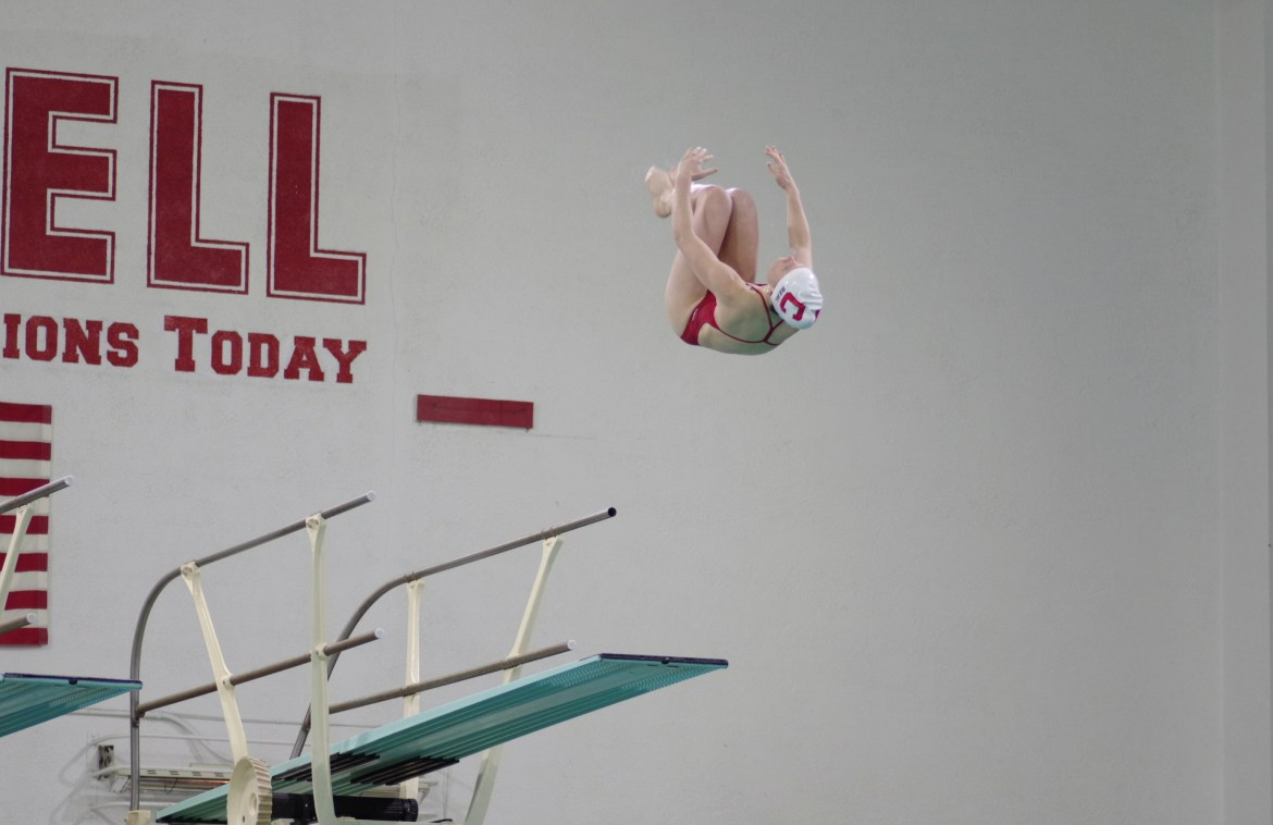Women's Swimming and Diving will look to move up in the Ivy standings win a win Saturday at Brown.