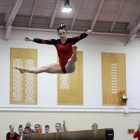 The gymnasts took third in Philadelphia last outing and return to Teagle Gym looking to continue improving.