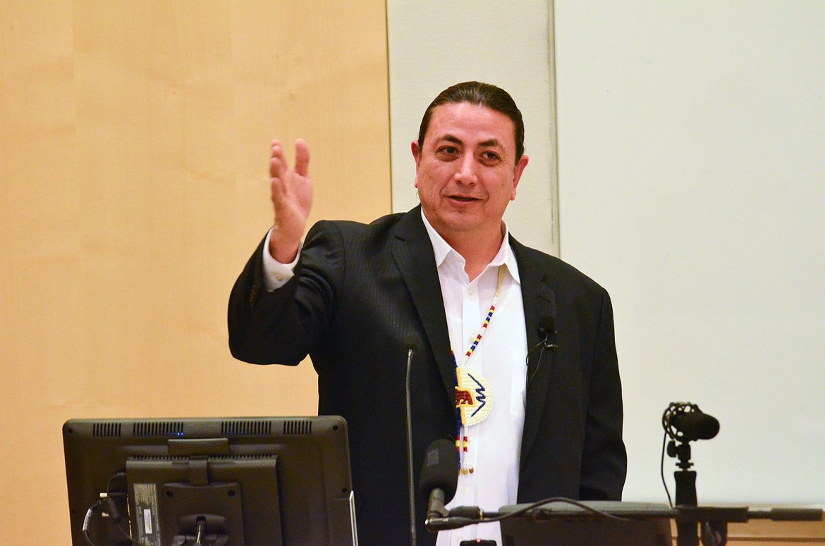 Archambault said that his decision to ask protesters to vacate Standing Rock grounds was made with their security interests in mind.