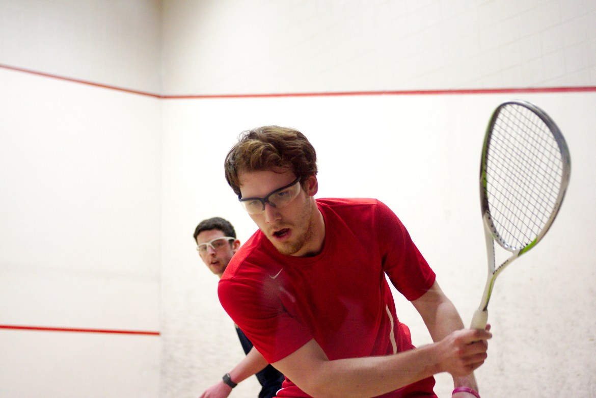 Both the men's and women's squash teams will look to build on recent success on the road.