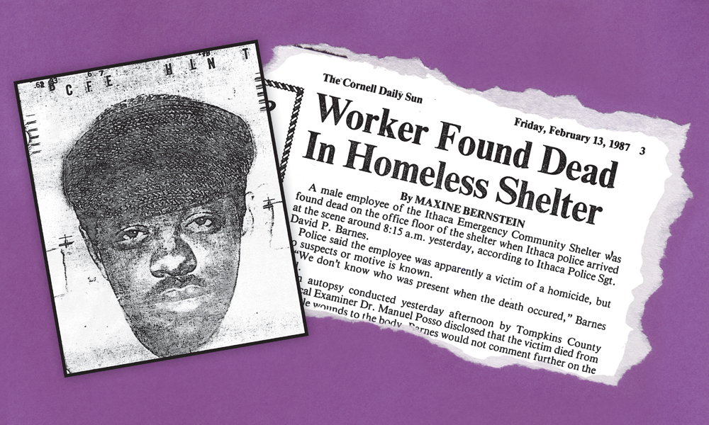 "Police released a composite sketch in 1987 of a man suspected of killing Cornell alumnus David Malcom that year. A relative said Malcom was ""sensitive and caring,"" The Sun reported in 1987."