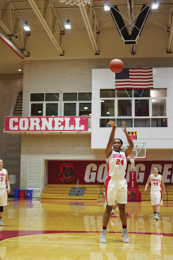 Nia Marshall '17 is Cornell women's basketball's all-time leading scorer.