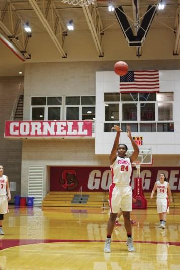 Nia Marshall '17 is Cornell women's basketball's all-time leading scorer.