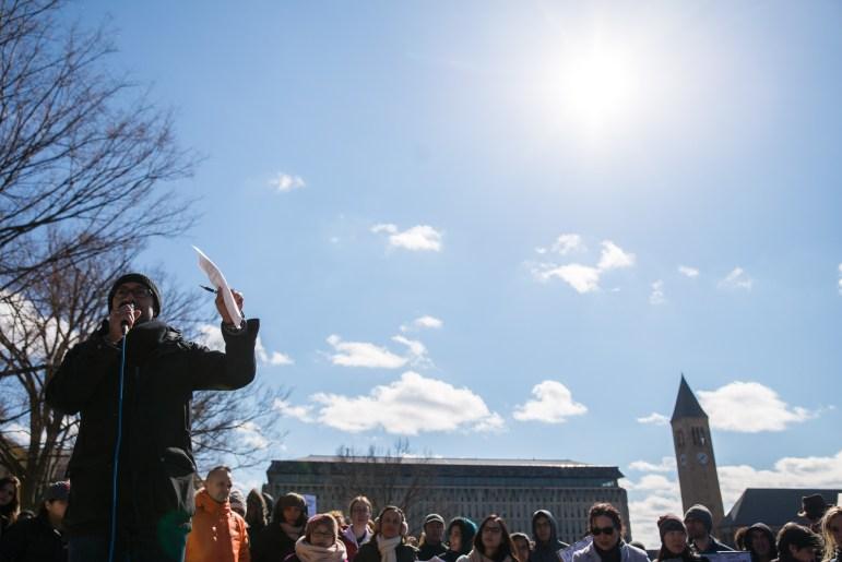 Sanctuary Now! Protest. (Cameron Pollack / Sun Photography Editor)