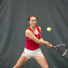 Cornell won all three doubles matches, as well as the top five singles matches en route to victory over Colgate.
